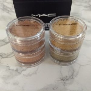 MAC Cosmetics Crush Metal Pigments: Stacked 2! LE